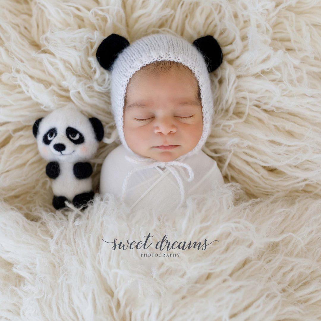 Pande Temalı Bebek Fotoğrafları